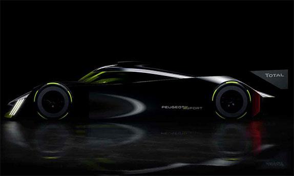Peugeot 2 - В Peugeot представили гиперкар для Ле-Мана'2022