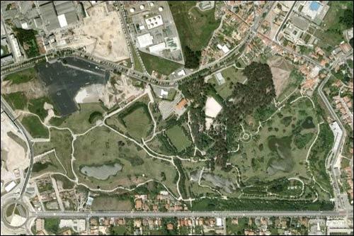 День сегодняшний. Трасса Порту. Вид со спутника