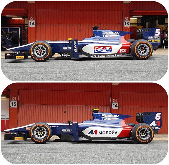 В Барселоне стартовали первые тесты Формулы 2