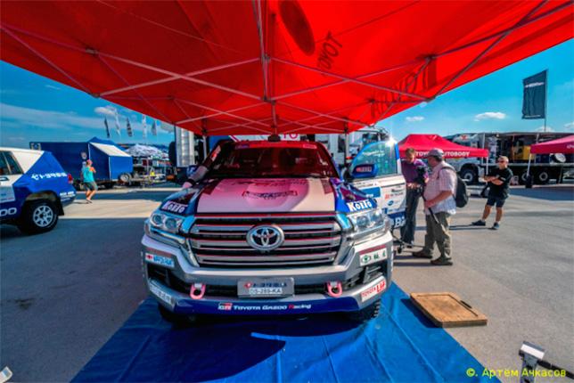 Toyota Land Cruiser Акиры Миуры
