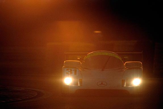 Михаэль Шумахер в Ле-Мане, 1991 год. Фото Daimler