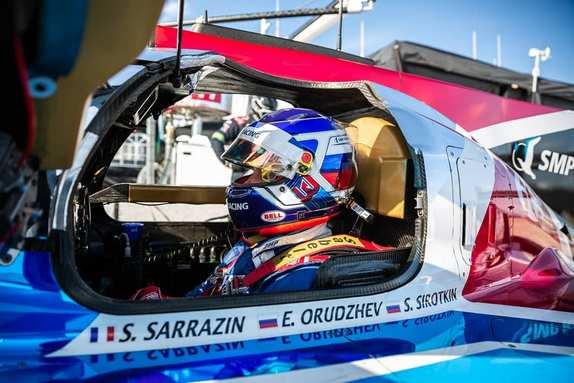 Сергей Сироткин за рулём BR1