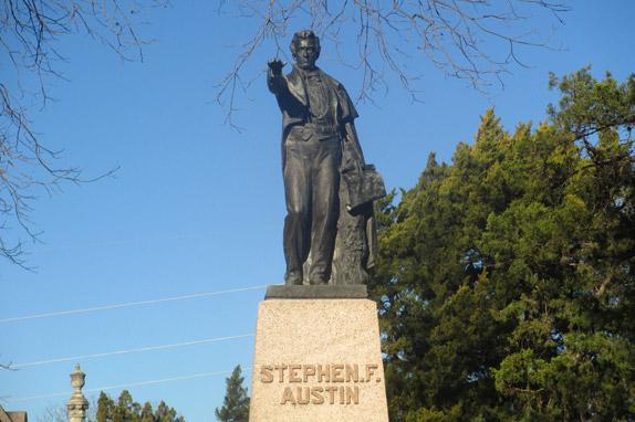 Памятник Стивену Остину в Остине