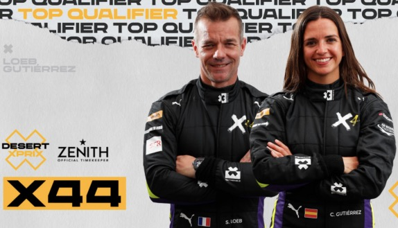 Гонщики X44  Себастьен Лёб и Кристина Гутьеррес