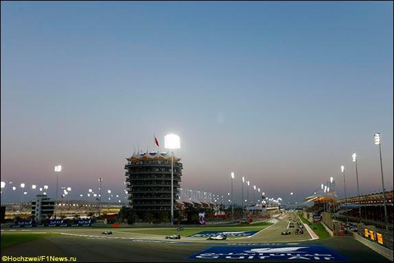 Вечерняя гонка в Бахрейне