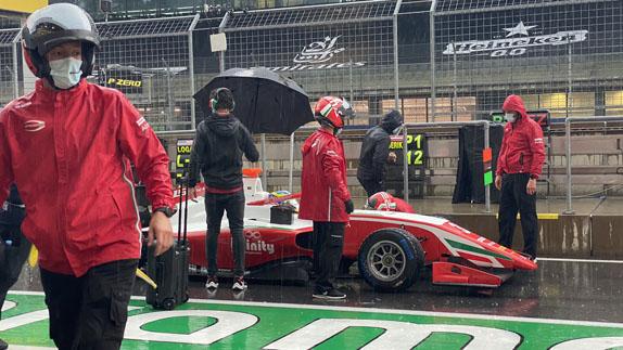 Ф3: Фредерик Вести выиграл дождевую гонку в Штирии