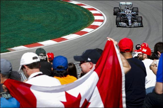 Льюис Хэмилтон возглавил протокол первой тренировки в Канаде