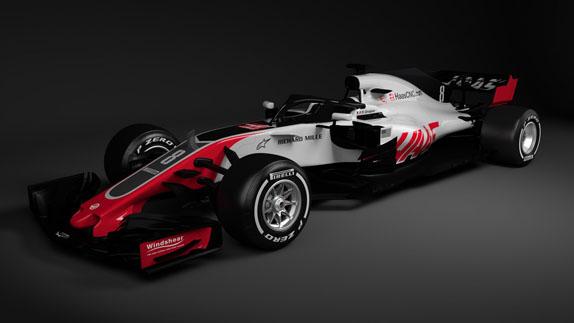 Haas представила машину 2018 года