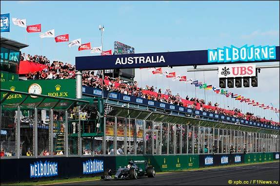 Льюис Хэмилтон – победитель Гран При Австралии 2015 года