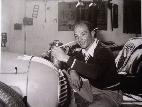 Робер Манзон. Фото 1949 года