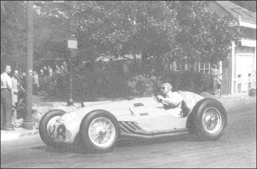 Пьер Левег на внезачётном Гран При По 1950 года