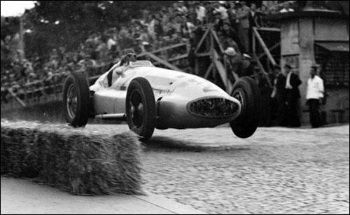 Херман Ланг на Гран При Белграда - последней довоенной гонке, разыграной 3 сентября 1939 года