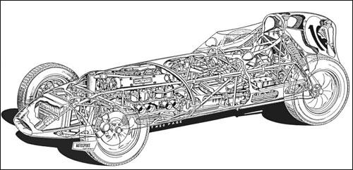 Lotus 16 в разрезе