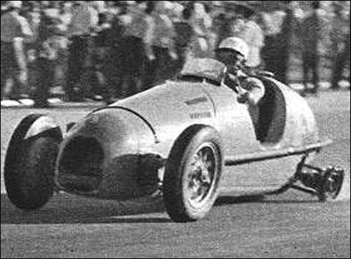 Сход Робера на Гран При Аргентины 1953 года