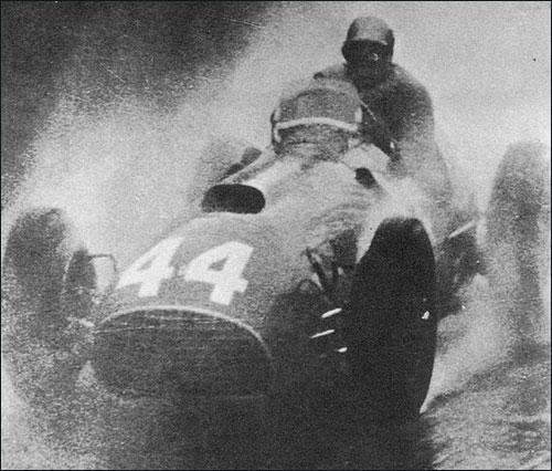 Пьеро Таруффи финишировал вторым в Гран При Швейцарии '51 (на фото) и выиграл эту гонку годом позже