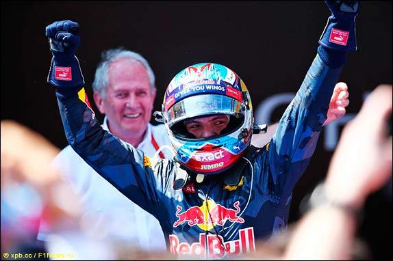 Победа Макса Ферстаппена в Барселоне