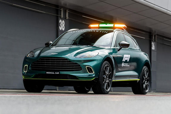 Медицинский автомобиль Aston Martin DBX