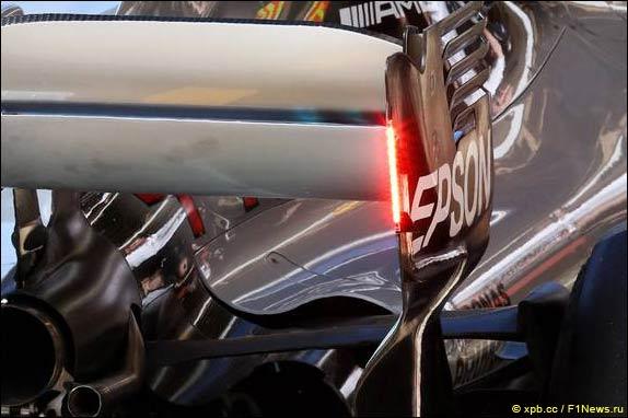 В Mercedes тестировали дополнительные стоп-сигналы