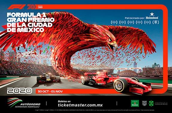Афиша Гран При Мексики