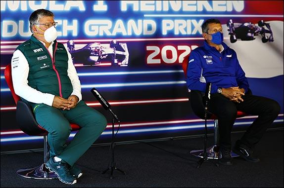 Отмар Сафнауэр (Aston Martin), Гюнтер Штайнер (Haas)