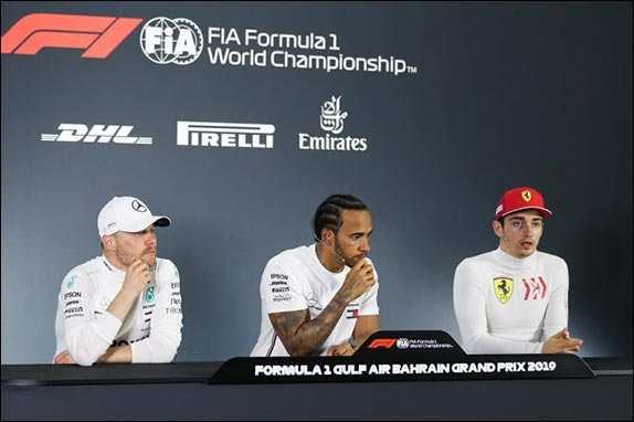 Гран При Бахрейна: Пресс-конференция после гонки