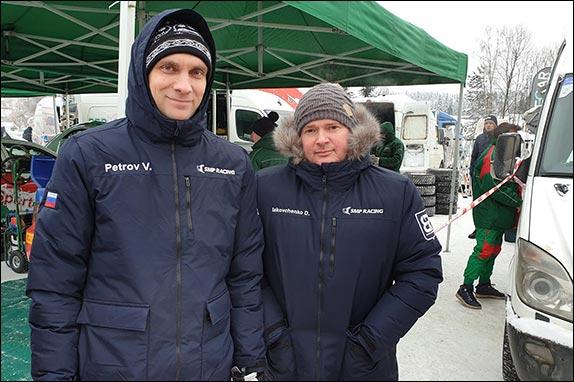 Виталий Петров и Дмитрий Яковченко