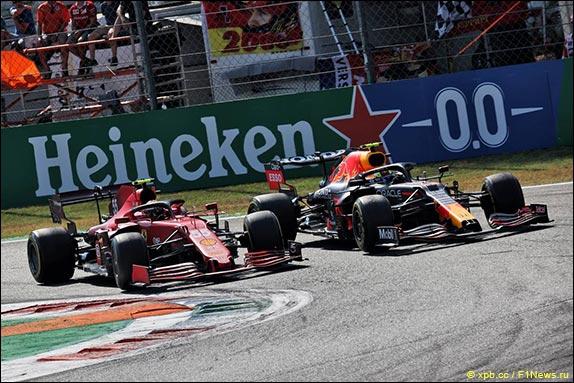 На 9-м круге Перес опередил Сайнса в борьбе за шестое место