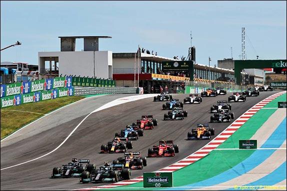 Старт Гран При Португалии