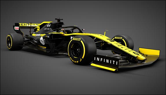 Раскраска Renault R.S.19