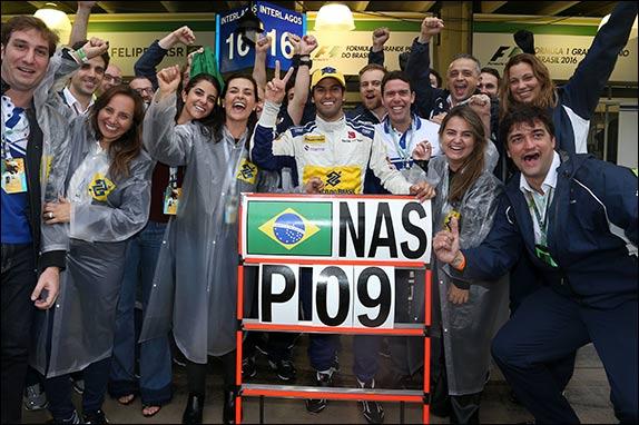 Фелипе Наср принёс Sauber два очка в Интерлагосе