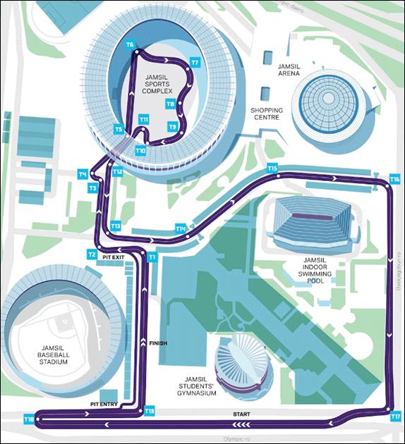Формула Е: Представлена конфигурация трассы в Сеуле