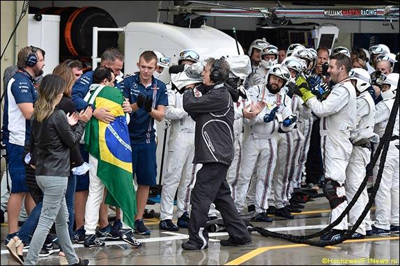 Последний Гран При Бразилии для Фелипе Массы