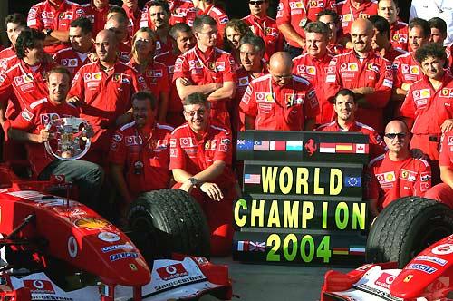 Кубок Конструкторов у Ferrari