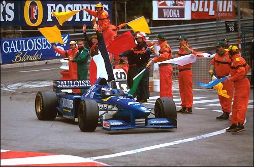 Гран При Монако 1996. Первая и единственная победа Оливье Паниса