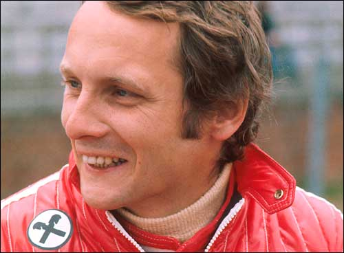 Ники Лауда. Ferrari'75