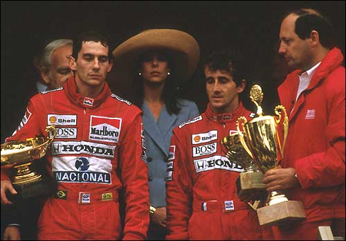 Сенна и Прост. Монако 1989