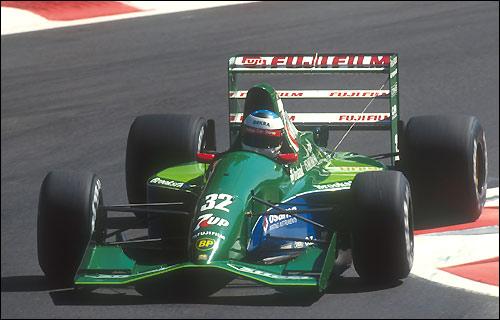 1991-й. Jordan и Михаэль Шумахер в Спа