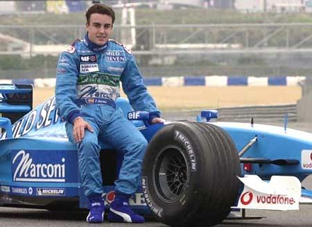Алонсо в Renault