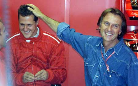 Лука и Михаэль на Гран-при Италии