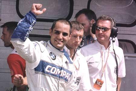 Первый поул Монти. Гран-при Германии 2001