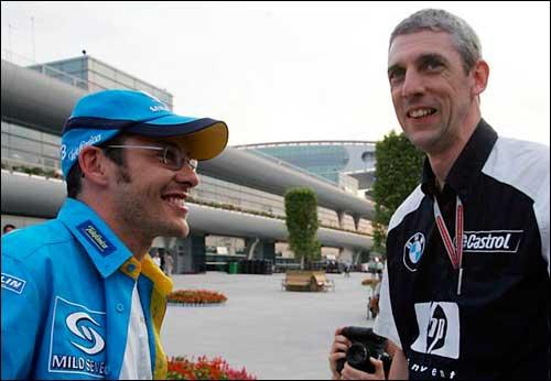 рхив. Гран При Китая'04. Вильнев  и Райт