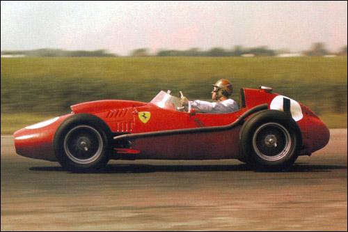 Питер Коллинз на Гран При Великобритании 1958 года