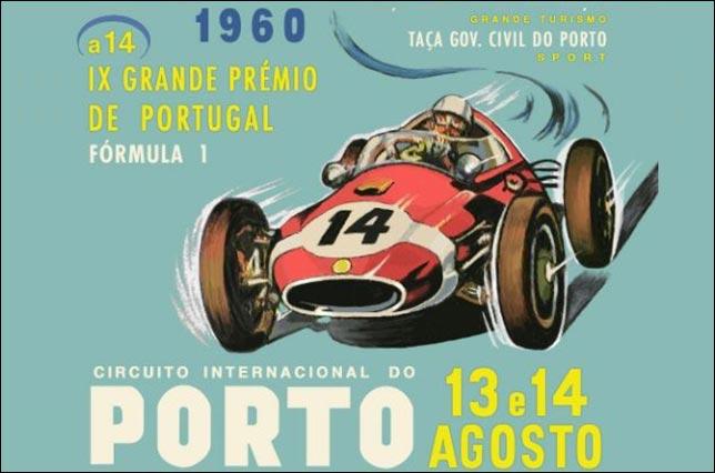Афиша Гран При Португалии 1960 года