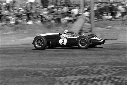 Джек Брэбэм на Гран При Португалии 1960 года