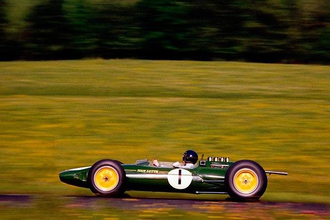 Джим Кларк на Гран При Бельгии 1963 года