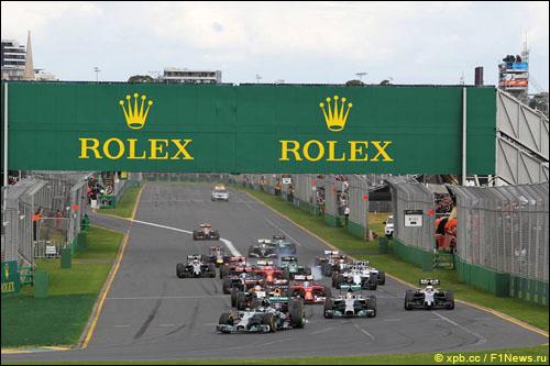 Старт Гран При Австралии