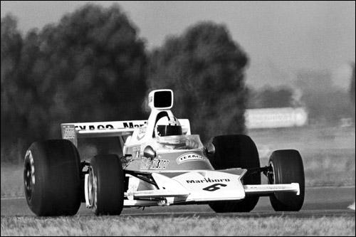 Денни Халм на McLaren M23, Гран При Аргентины 1974 года