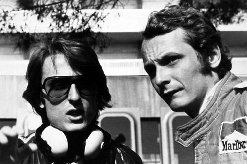 Лука ди Монтедземоло и Ники Лауда, 1975 год
