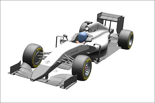 Компания Perinnп продемонстрировала примерный облик своей будущей машины