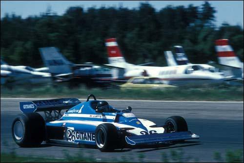 Жак Лаффит на Гран При Швеции, 1977 год